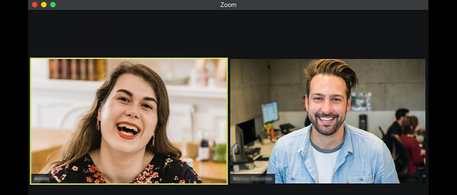 Een Zoom-sessie