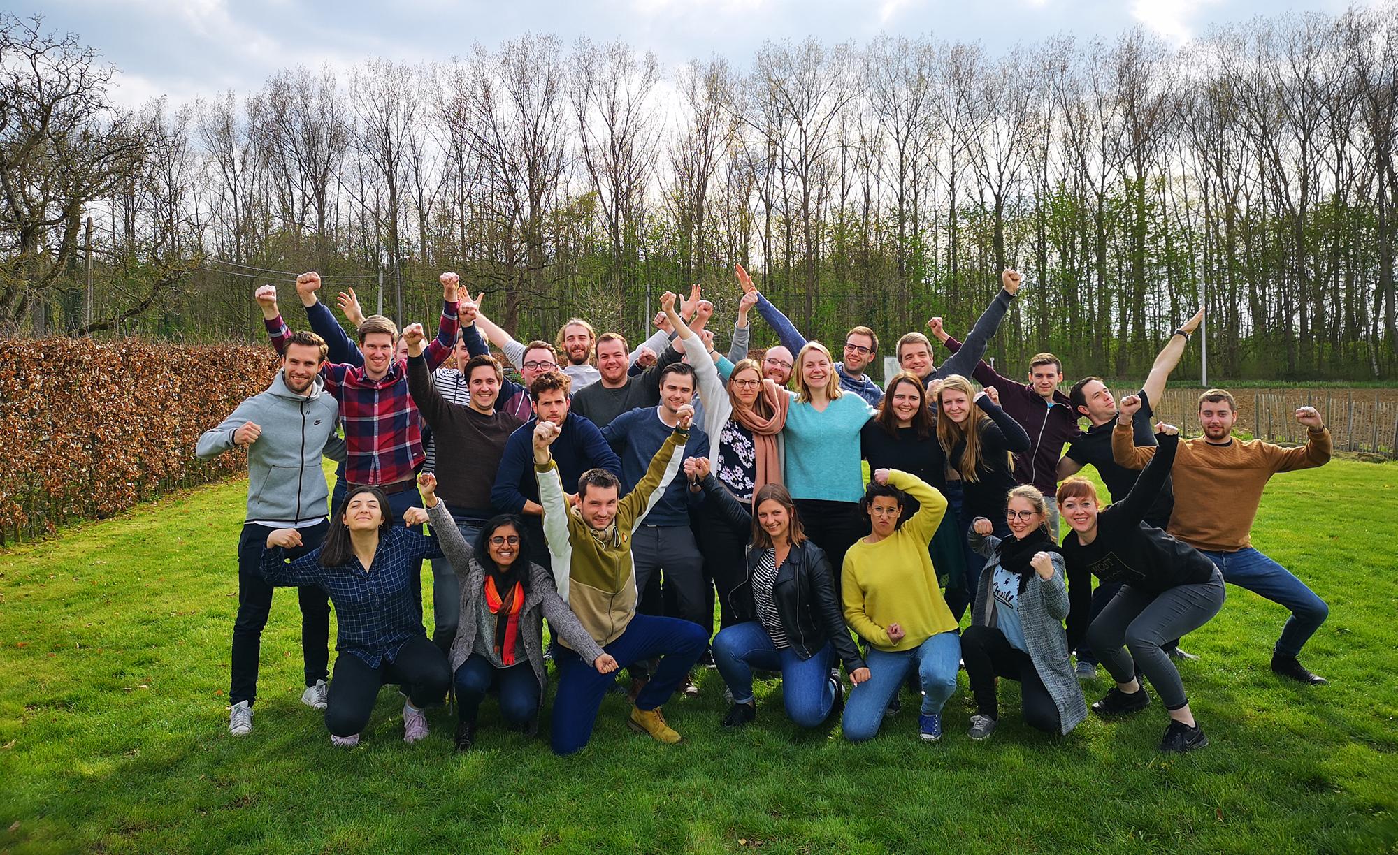 Topstarters op bootcamp