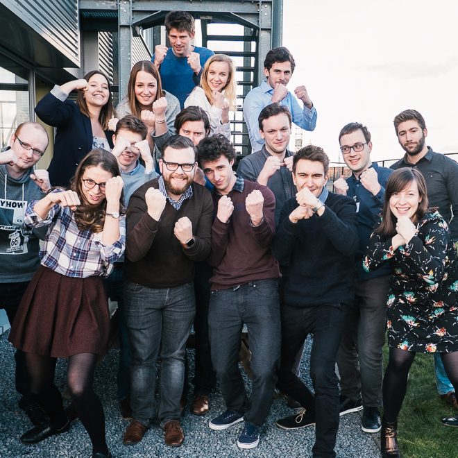 Topstarters bij Planet Talent